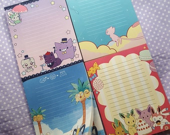 Pokemon Notepads