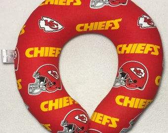 Kansas City Chiefs- Travel/Neck Pillow