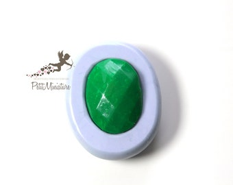 Mold cabochon faceted 3d-mold flexible silicone polymer clay cabochon charm kawaii polymer clay soap plaster resin jewelry ST319