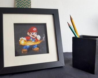 Mario amiibo card