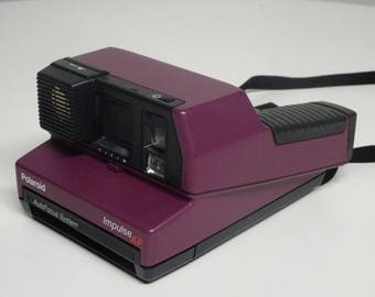 Purple Polaroid Impulse AF Auto Focus System 600 Instant Camera  FREE SHIPPING