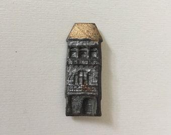 Vintage House Brooch