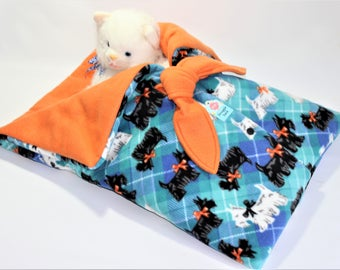 Snuggle Sack Bed for Small Dogs, Cats, Dolls, Stuffed Animals