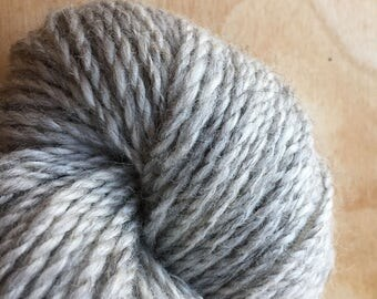 Light Grey Gotland Lambswool Yarn- Sustainably Raised in the US