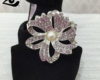 2pcs/pair Rhinestone clips decrations for high heel shoes