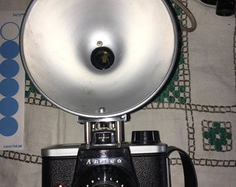 Vintage Ansco Readyflash Camera With Flash Attachment From 1953