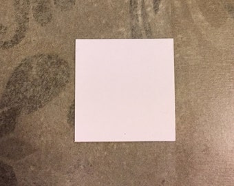 """1 1/2"""" Squares for English Paper Piecing by All Quilty Choose Package Size"""