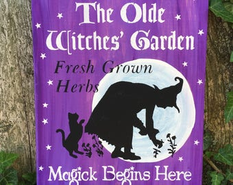 The Olde Witches' Garden ( Purple)