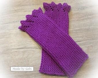 Arm warmers - fuchsia