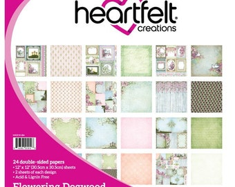 Heartfelt Creations Flowering Dogwood Paper Collection HCDP1-275