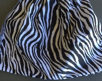 Black & White Animal Print library bag, swimming bag, etc