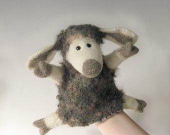 The Cute Lamb hand puppet