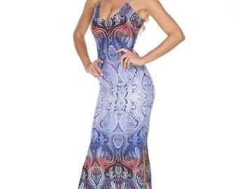 Lilly - maxi dress, womens dress, summer dress, spring dress, boho dress, bohemian dress