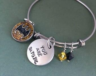 Batgirl: Be Epic - You are Batgirl Bracelet