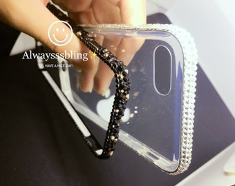 Iphone bumper Iphone case iPhone iphone 7 Iphone 6/6S available -redo bumper phone cover with crystals SWAROVSKI ELEMENTS superb bling bling