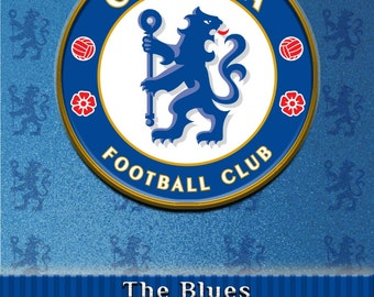 """Chelsea Poster Football/Soccer 16x20 Poster Print """"The Blues, Est. March 11, 1905, Stamford Bridge"""""""