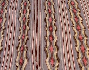 Native American, Vintage Navajo Wide Ruins Weaving, Ca 1970's # 1085