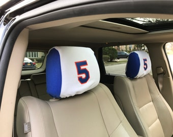 Sweatcovers Automotive Headrest Covers for Baseball Fans