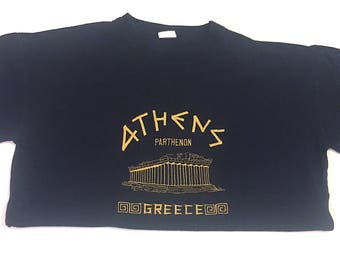 ATHENS GREECE Embroidered SZ L