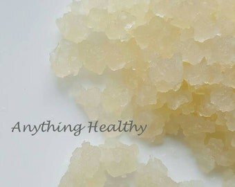 Fresh Water Kefir Grains 1 TBSP Live Tibicos Probiotic Culture, Fizzy Healthy Soda Alternative, DIY Make Your Own, Homemade with Recipe