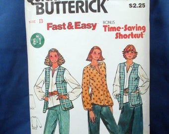 Vintage Butterick Sewing Pattern 6716 Misses Wardrobe Size 10-12-14