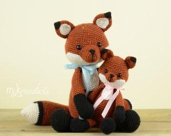 Crochet Pattern - MINI Fox Victor