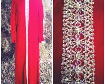 maxi dress 1970s omega