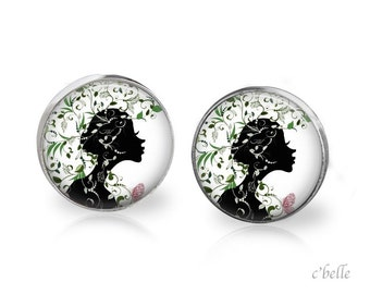 Earrings floral 4