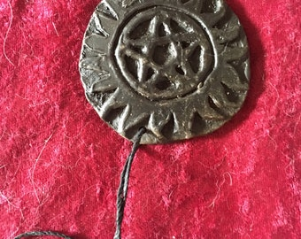 Cast Iron Charm Necklace (large)