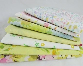 Vintage Sheets - Fat Quarter Bundles