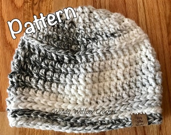 Chunky Winter Beanie Pattern
