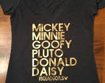 Disney Squad Goals Shirt