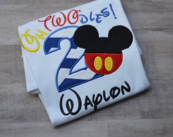 Sale Sale!!Boys Mickey Mouse Shirt