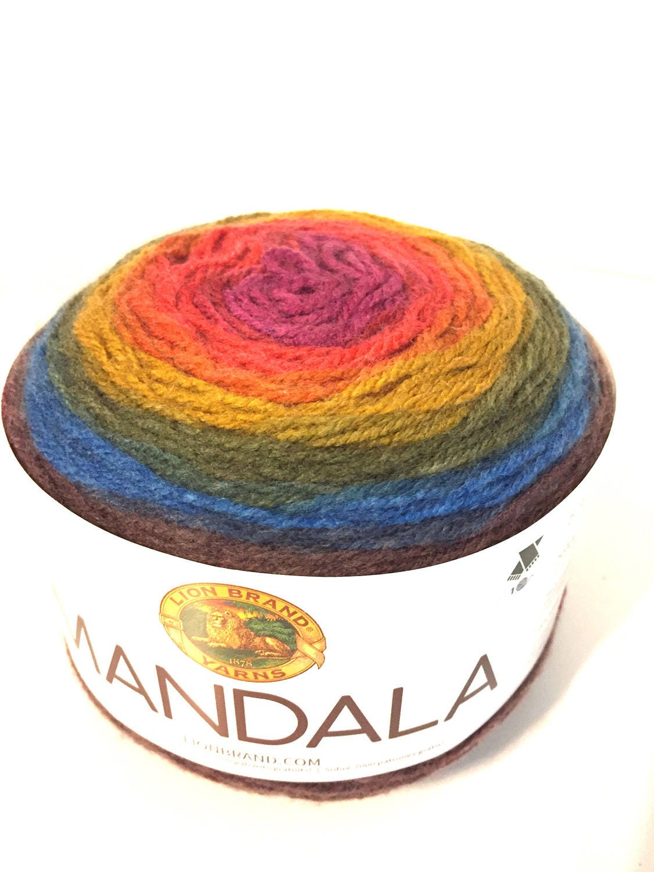 Mandala yarn Mandala Chimera LionBrand Mandala yarn