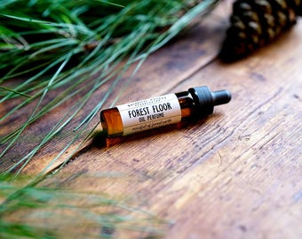 Natural Perfume Oil | Forest Floor | Smells like the Forest Floor | Earthy, Fresh, Woods, Pine | Vetiver, Fir Needle, Thyme and Cypress