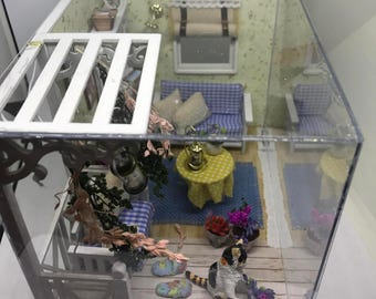 Patio Room Dollhouse
