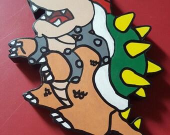 Super Mario Bowser Wall Art