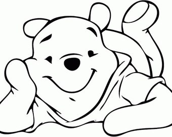 Pooh and friends svg on disney characters