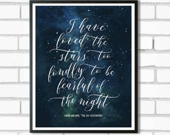Love the Stars- 8x10 Digital Print