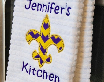Louisiana Kitchen Towel Gift, Kitchen Gift, Gift for Woman, Gift for Grandmother, Gift for Sister, Gift for Mother, Housewarming Gift