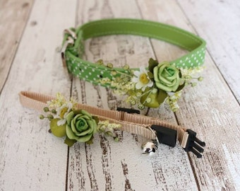 Cat Collar - Green