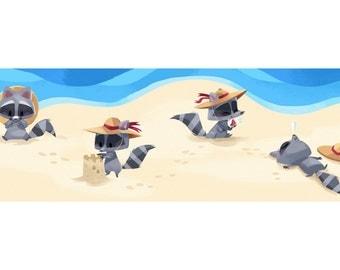 Beach Critter - Art Print