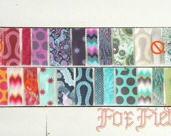 Tula Pink Fox Field Fat Quarter Bundle OOP - Almost Complete - 23 Fabrics