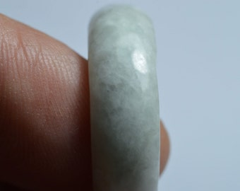 Natural Jade Ring Classic Round Size 9.75 0018