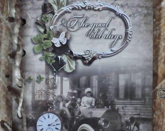 Retro Design Diary, Hemp-Bound, Hardcover