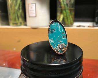 Copper harddrive ring