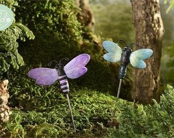Fairy Garden  - Glow-In-The-Dark Dragonflies - Set of 2 - Miniature
