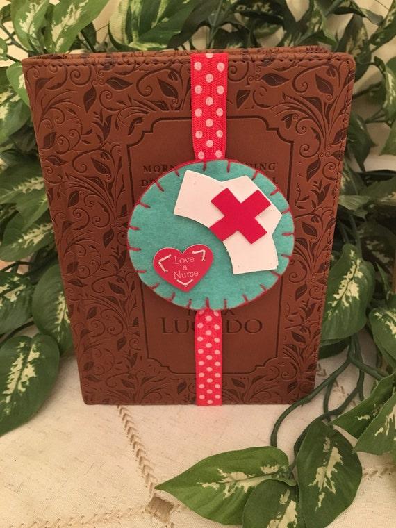 Nurse bookmark, unique bookmark, gift for nurse, bookmark, journal elastic, planner marker, book accessory