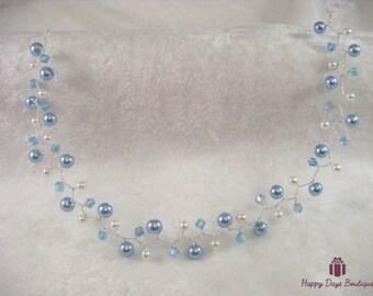 Pearl Hair Vine Bridal Prom or Ball