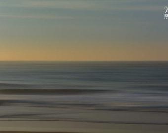 Ocean at sunrise, photograph of the ocean at dawn on canvas, beach sunrise pics, ocean sunrise picture, Sunrise in East Hampton